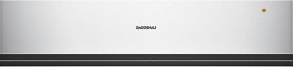 Gaggenau WSP221130 Wärmeschublade Serie 200 Glasfront in Gaggenau Silber Breite 60 cm, Höhe 14 cm