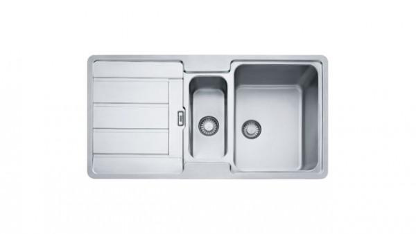 Franke HDX 254 Edelstahl Küchenspüle Hydros slim Top Rand 10036
