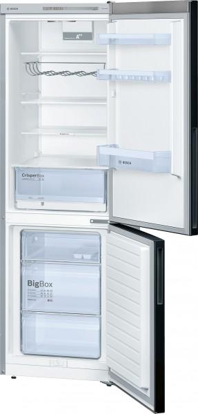 Bosch KGV36VB32S Kühl-/Gefrier-Kombination, Türen schwarz