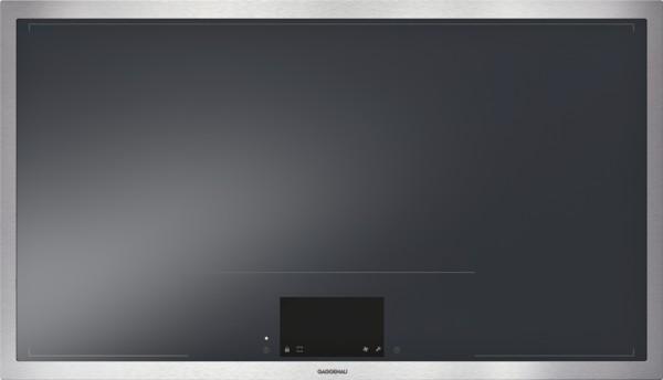 Gaggenau CX492110 Vollflächen-Induktionskochfeld Serie 400 Edelstahlrahmen Breite 90 cm