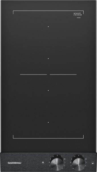 Gaggenau VI232120 Vario Flex-Induktionskochfeld Serie 200 Schwarze Bedienblende Breite 28 cm